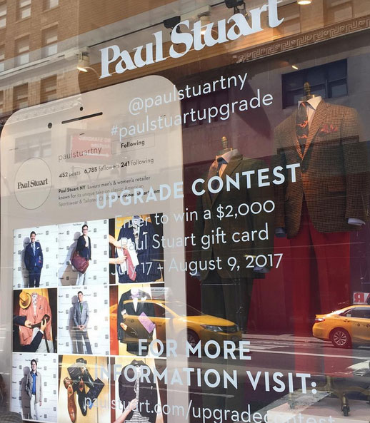 The Upgrade Contest From Paul Stuart Invites People To