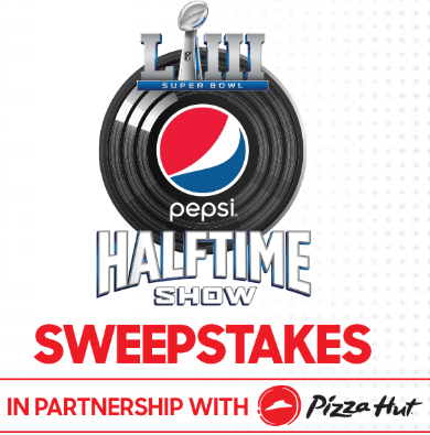 This year's Road to the Super Bowl kicks off with a sweepstakes from