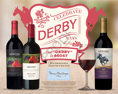 The Derby Text-to-Win Sweepstakes celebrates the upcoming