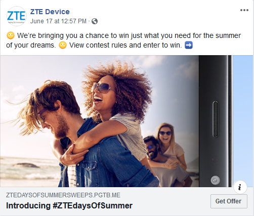ZTE officially kicks off the Summer of 2019 with their Summer Fun